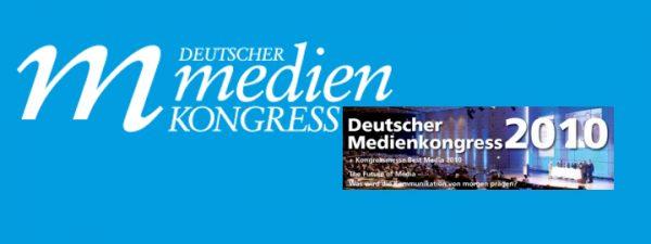 Vortrag – Deutscher Medienkongress 2010