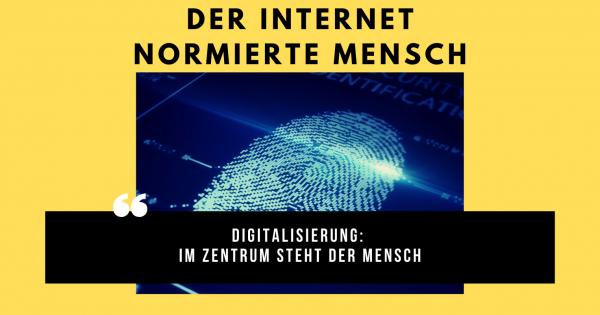 Digitalisierung: Im Zentrum steht der Mensch