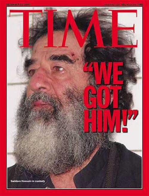 Saddam Hussein Time 22. December 2003