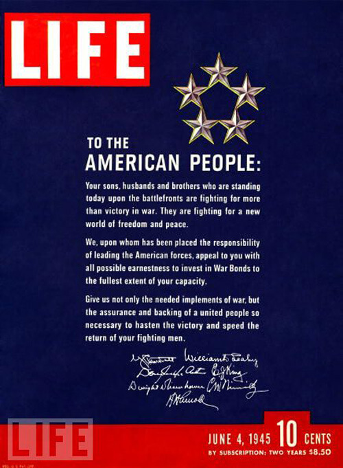 Life - To the American People