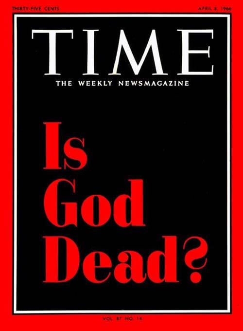 Times Is God Dead