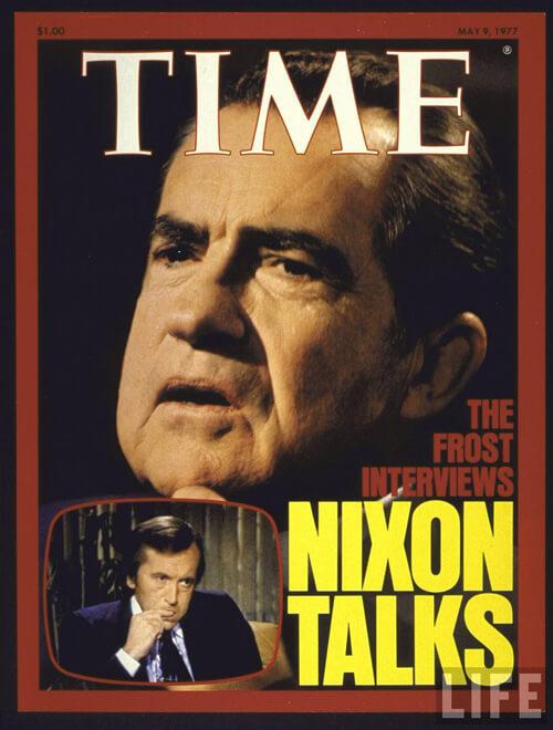 Richard Nixon und Frost
