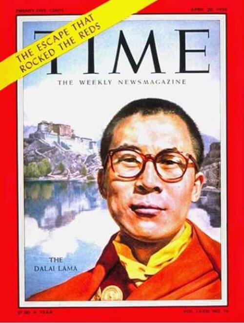 Dalai Lama - Time Cover