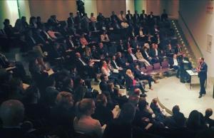 Keynote Speaker Ibrahim Evsan spricht auf dem 9.Recruiting Convent 2015