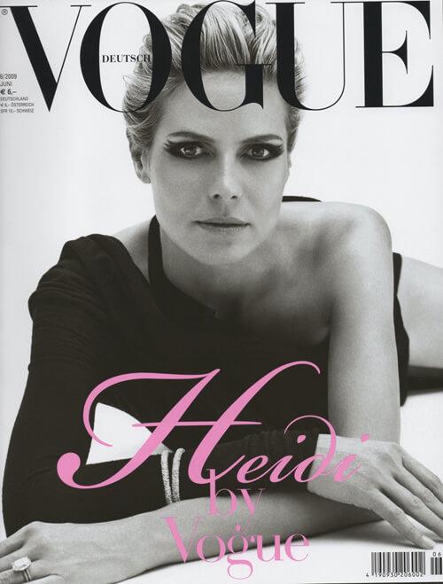 Vogue - Heidi Klum