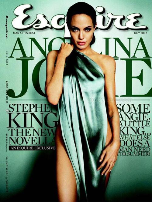 Esquire - Angelina Jolie