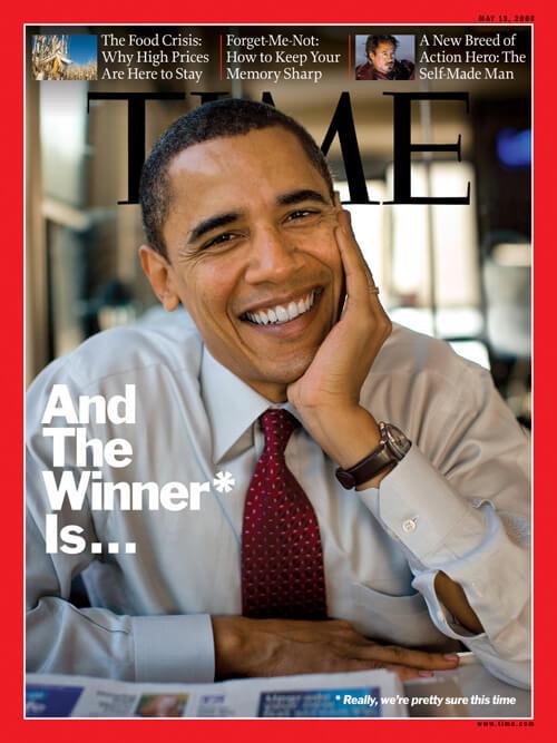 Time - Obama