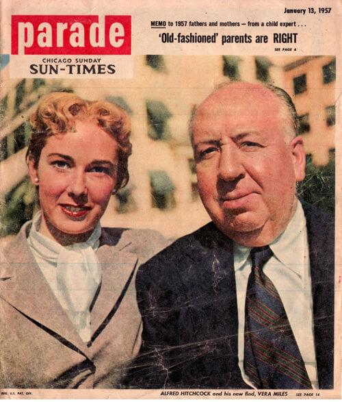 Parade Alfred Hitchcock Vera Miles
