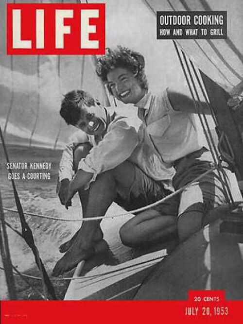 John Kennedy Life 20. july 1953