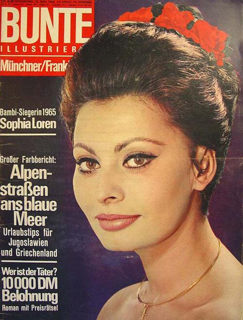 Bunte - Sophia Loren