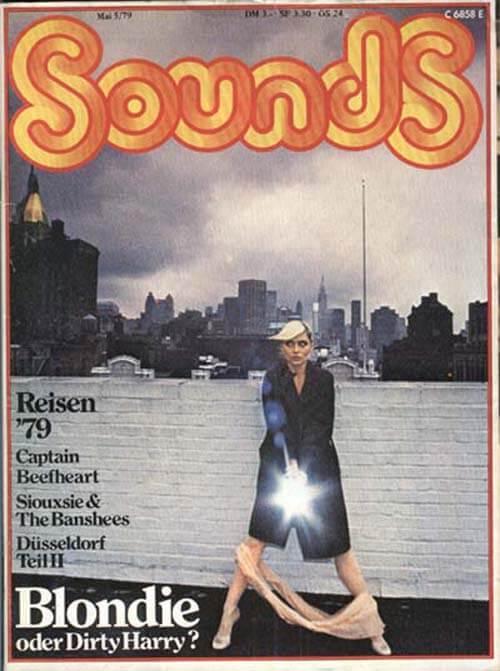 Sounds - Blondie vom Mai 1979