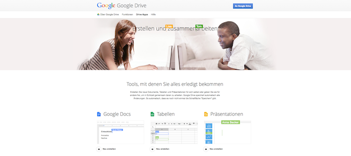 Google Drive- Apps