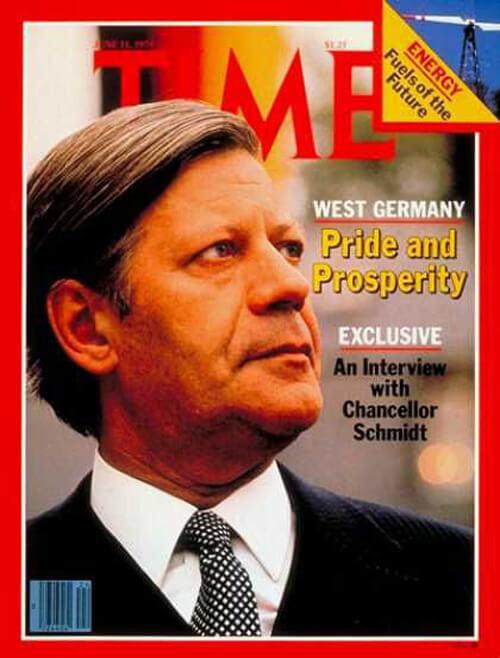 Helmut Schmidt Time 11 June 1979