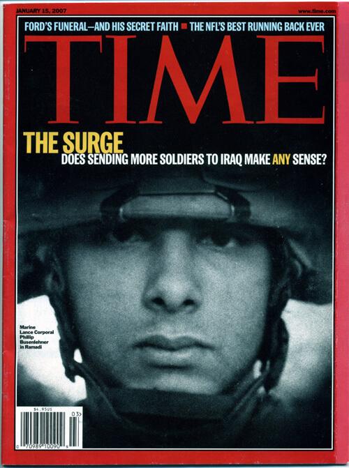 Time - Der Soldat vom Januar 2007