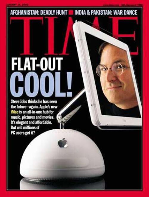 Steve Jobs Time 14 January 2002