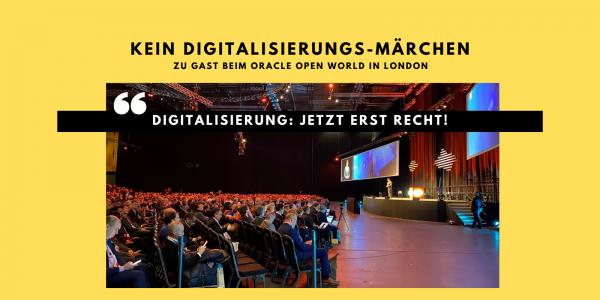 Digitalisierung: Jetzt erst RECHT!